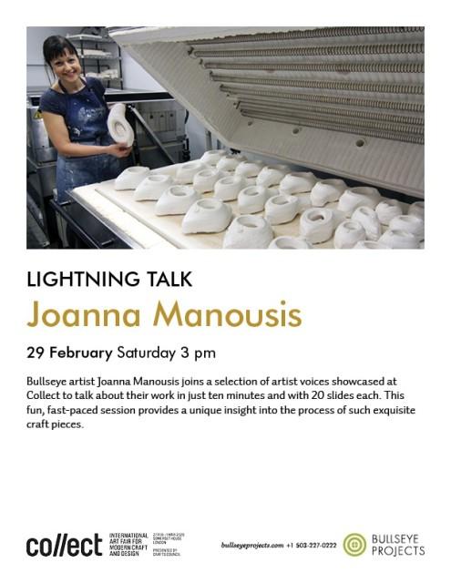 Collect 2020 Lightning Talks, with Joanna Manousis