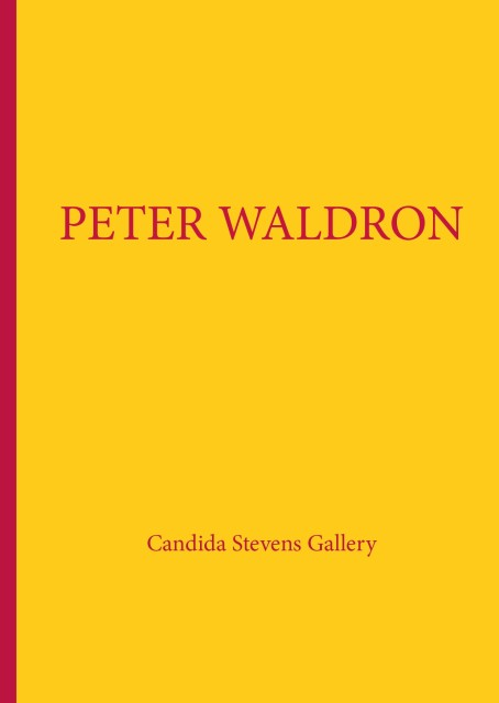 Peter Waldron Exhibition Catalogue
