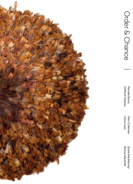Order & Chance Exhibition Catalogue