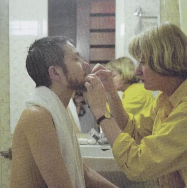 Katarzyna Kozyra 卡塔姿娜·科兹拉, Changing Room《更衣室》, 1999, single-channel video from the original five-channel video installation Men's Bathhouse, 3'41'' | 来源于《男澡堂》的单频道录像,3'41''