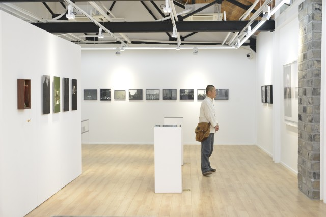 Installation view at Modern Art Base 现代艺术基地展览现场图