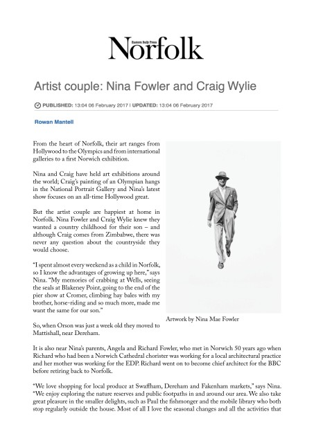 Artist Couple: Nina Fowler and Craig Wylie
