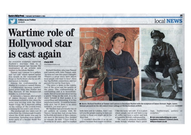 Wartime Role of Hollywood Star is Cast Again