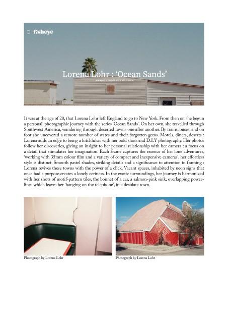 Lorena Lohr : 'Ocean Sands'