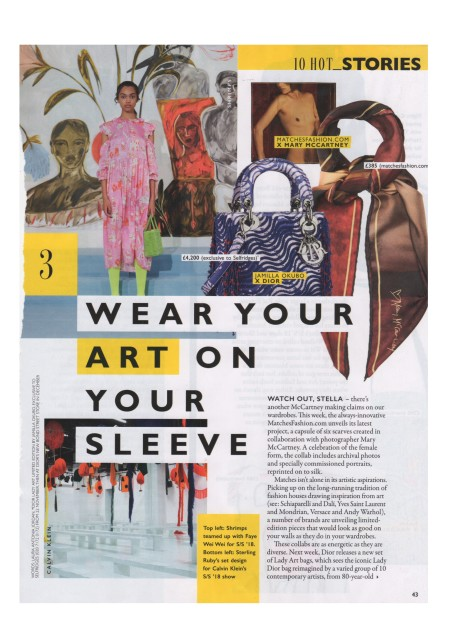 Faye Wei Wei featured in Grazia