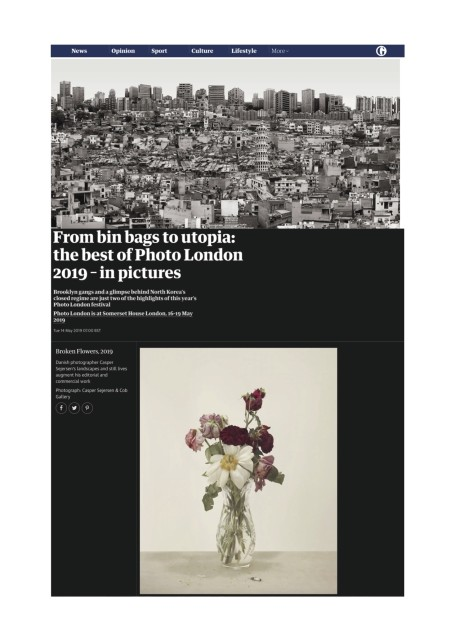 From bin bags to utopia: the best of Photo London 2019 – in pictures