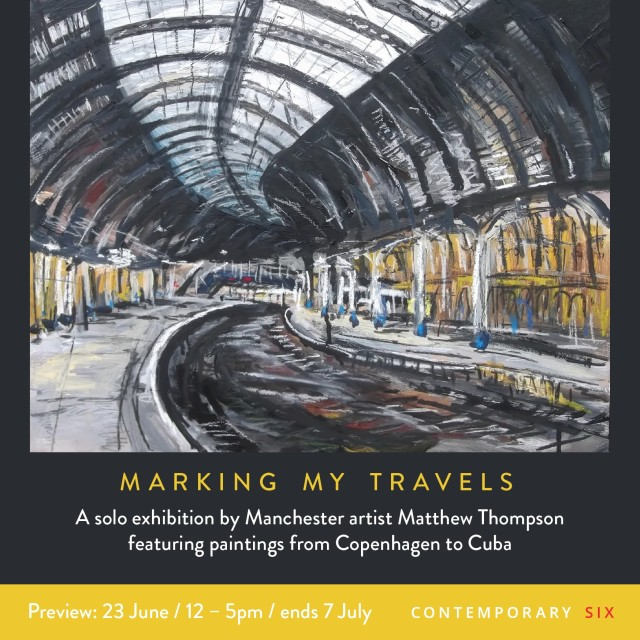 Matthew Thompson, 'Marking My Travels'