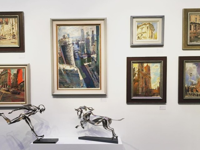 Affordable Art Fair, Battersea Park, London