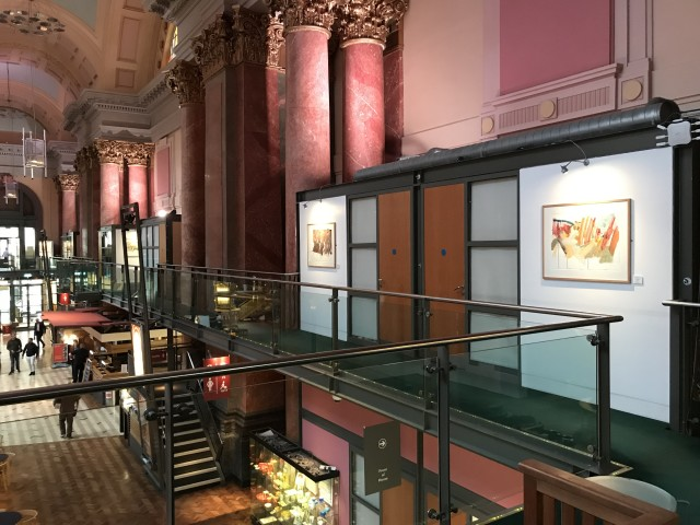Colin Taylor's exhibition LIGHTSPACE held in collaboration with the Royal Exchange Theatre