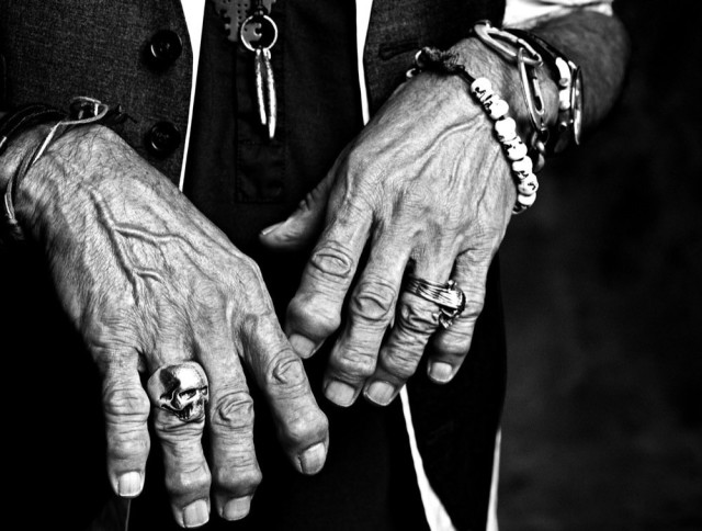 Francesco Carrozzini, Keith's Hands, New York, 2008