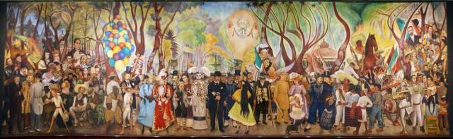 Diego Rivera, Sueño de una tarde dominical en la Alameda Central, 1947