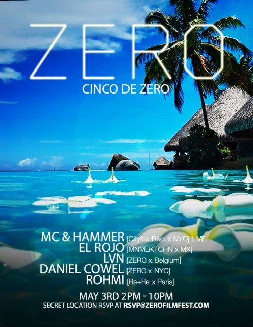 Cinco de Zero Daytime Party | MC & Hammer LIVE [Cityfox rec. x NY] , Collaboration with Zero Party