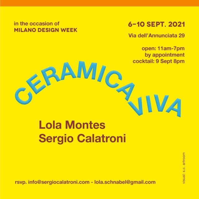 Ceramica Viva, Lola Montes Schnabel   Sergio Calatroni