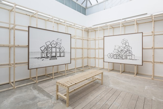Telluris (installation view) at Edel Assanti, 2018