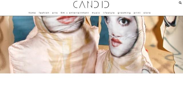 Sheida Soleimani interview in Candid Magazine