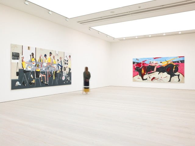 Dale Lewis at Saatchi Gallery