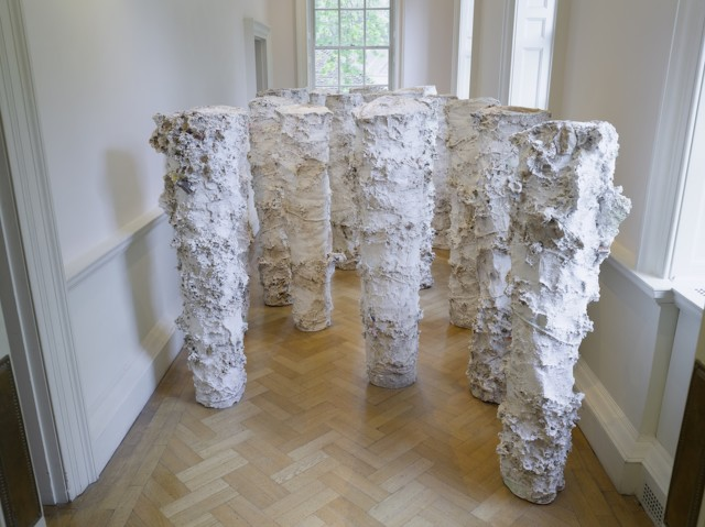 Jodie Carey, Earthcasts, installation view, 2018