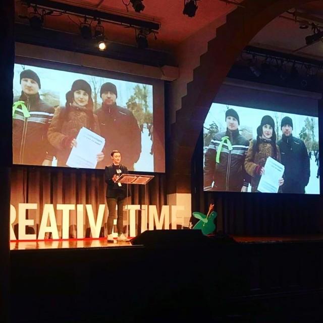 Victoria Lomasko at The Creative Time Summit