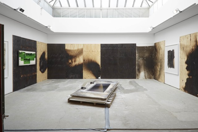 Jesse Hlebo, In Pieces, 2015, Installation View, Edel Assanti, 16 January - 28 February 2015
