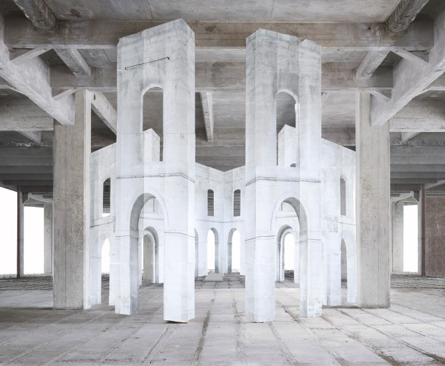 Noemie Goudal, In Search of the First Line IV, 2014