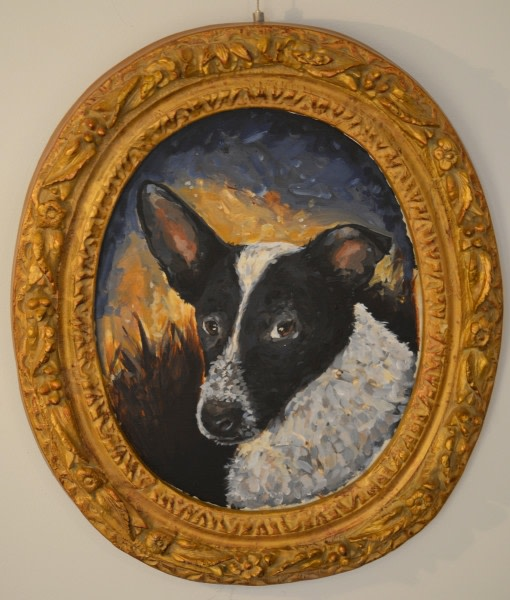<p><strong>Chaz John,<em> </em></strong><em>Portrait of Rez Dog #2</em>, 2019</p>