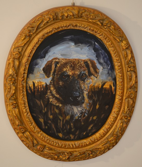<p><strong>Chaz John<em>, </em></strong><em>Portrait of Rez Dog #6 (Fergie)</em></p><p> </p>