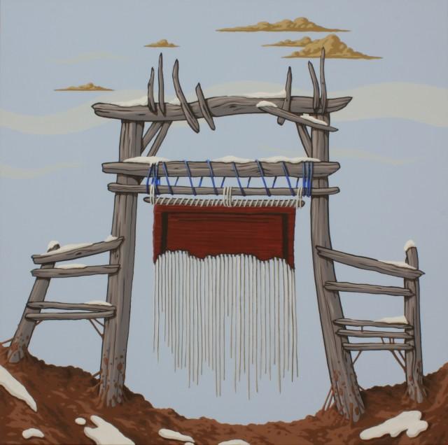 Greg Ballenger, Loom Structure I, 2020
