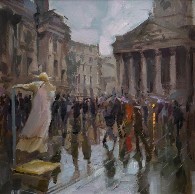 Rob Pointon, Yoda floating above Trafalgar Square