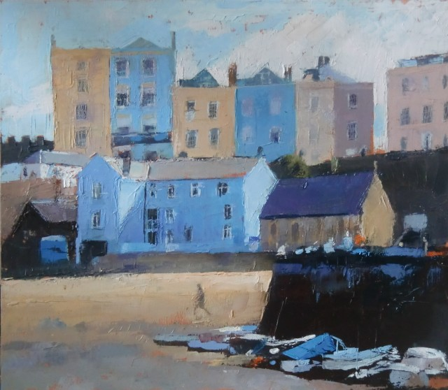 Anne Aspinall, Tenby Harbour, Low Tide
