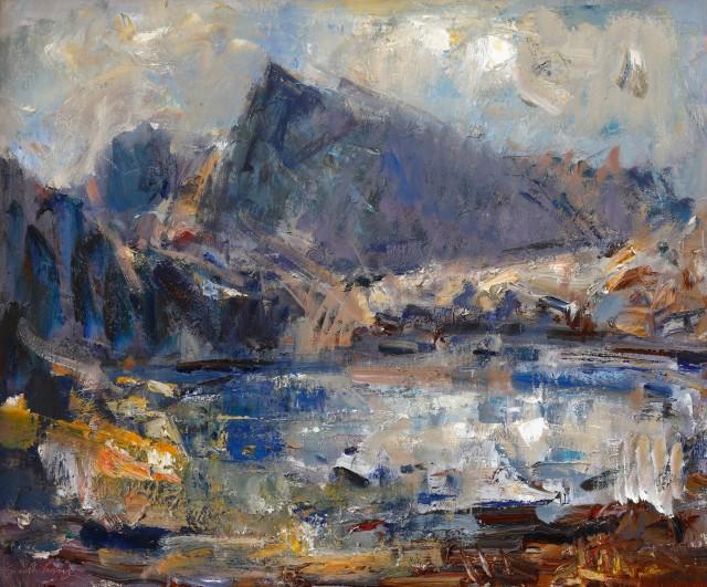 Gareth Parry, Llyn yn y Mynydd, Cwm Ffynnon II / Lake in the Mountains, Cwm Ffynnon II