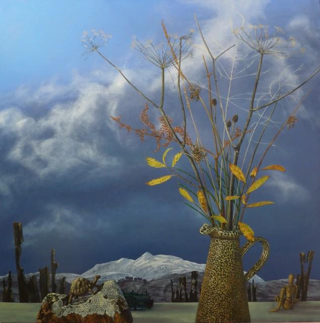 <span class=&#34;artist&#34;><strong>Kim Dewsbury</strong></span>, <span class=&#34;title&#34;><em>Watching Time Pass, Arenig</em></span>