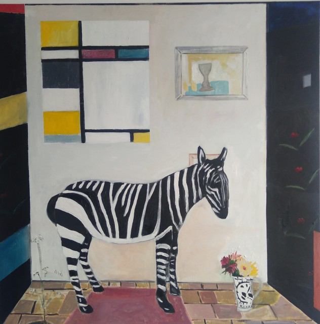 Emrys Williams, Zen Zebra, Kettles Yard