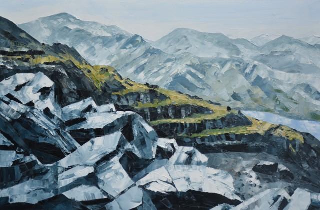 Gwyn Roberts, Chwarel Dinorwig / Dinorwig Quarry