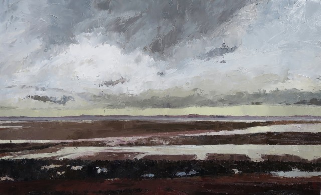 <span class=&#34;artist&#34;><strong>David Grosvenor</strong></span>, <span class=&#34;title&#34;><em>Anglesey from West Shore, Llandudno</em></span>