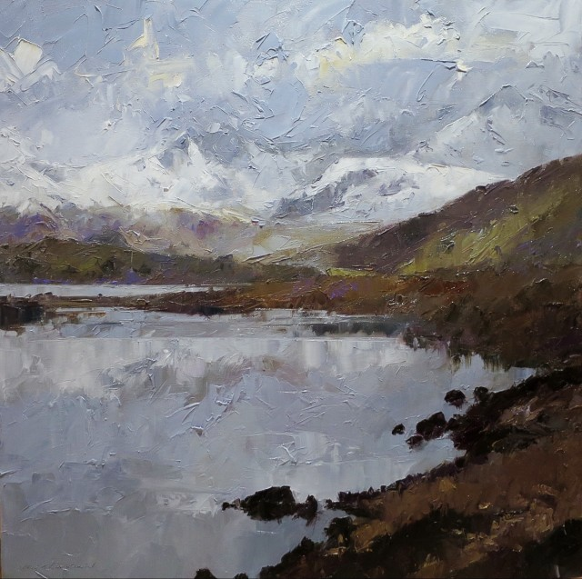 David Grosvenor, Snowdon from the Llynnau Mymbyr II