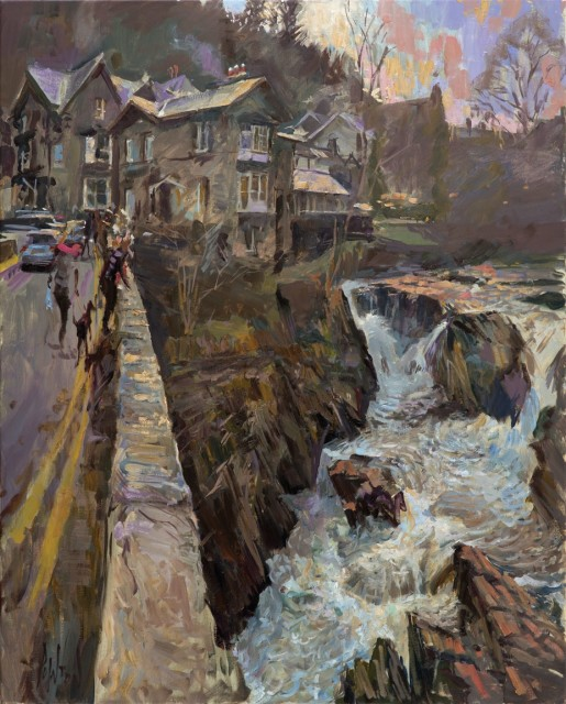 Rob Pointon, Above the Cauldron, Pont y Pair Bridge, Betws y Coed