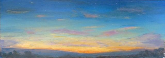 Twilight over Dyffryn Dulas