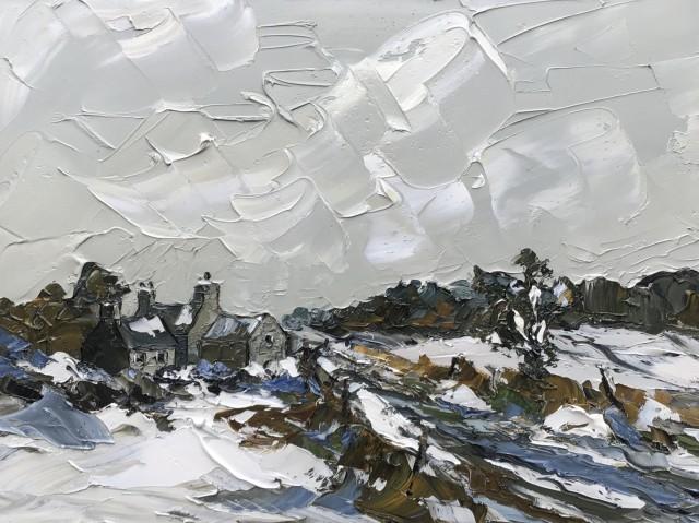 Martin Llewellyn, Winter on the Farm