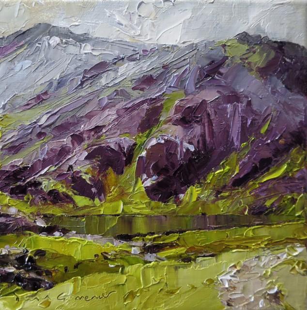 David Grosvenor, Llyn Cwn beneath Glyder Fawr