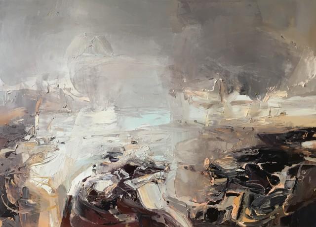 Beth Fletcher, Rain at Low Tide