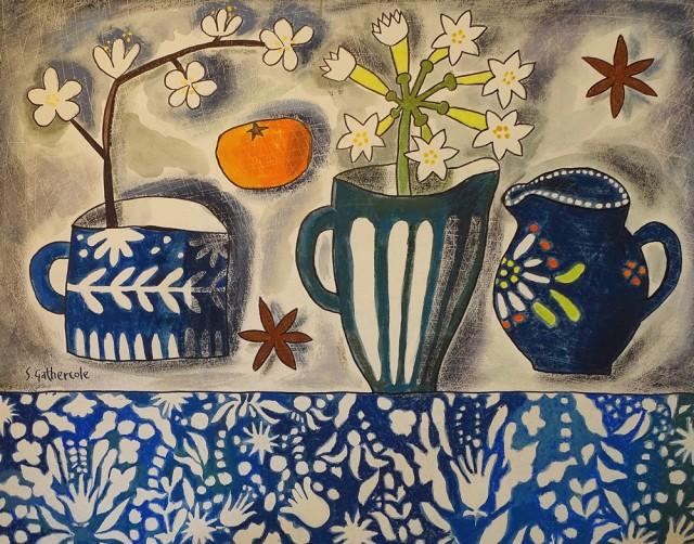 Susan Gathercole, April Flowers