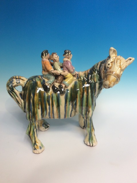 Tang Horse with Children