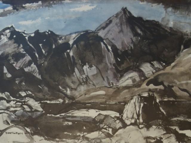 Donald McIntyre, Snowdonia, c1960s