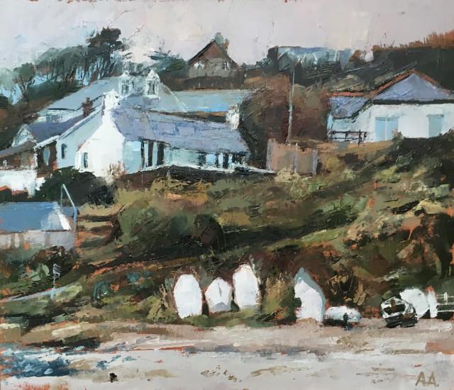 Anne Aspinall, Tresaith