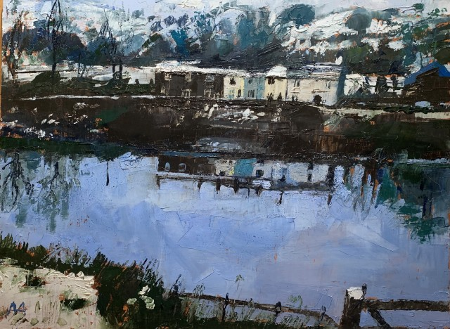 Anne Aspinall, Waterside Cottages