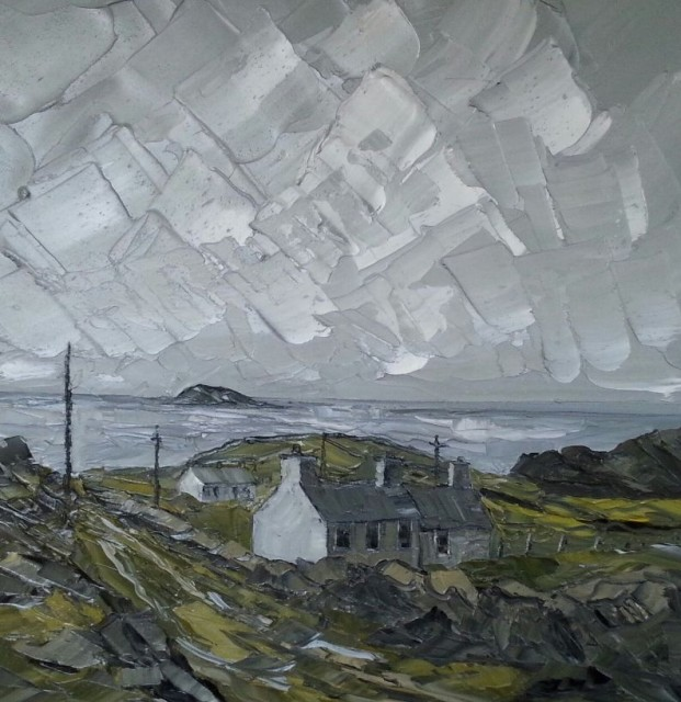 <span class=&#34;artist&#34;><strong>Martin Llewellyn</strong></span>, <span class=&#34;title&#34;><em>Cottages, Bardsey Island</em></span>