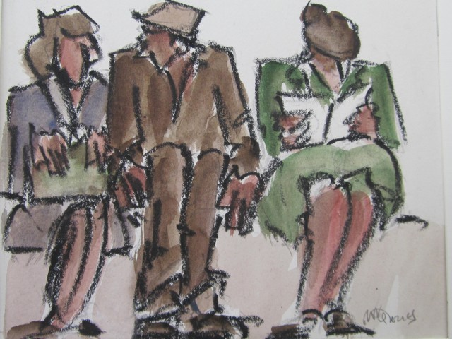 Mike Jones, Figures, Waiting Room II