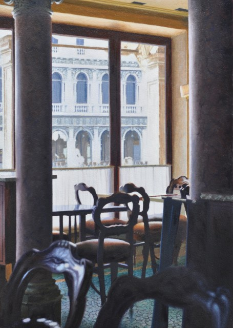 Mike Briscoe, Caffe Quadri, Venice