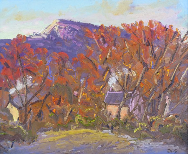 David Lloyd Griffith, Houses, Rhyd y Foel - Autumn