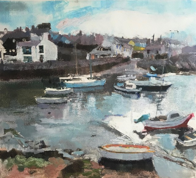 Anne Aspinall, The Harbour, Cemaes